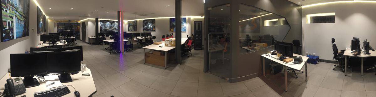 Cardonet IT Services Modern Workspace London