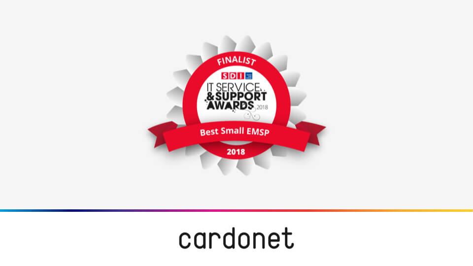 Cardonet SDI Best Small MSP Finalist