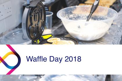 London IT Support Cardonet Waffle Day 2018