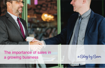 Growing Business, the Importance of Sales