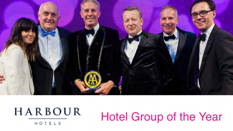 Harbour Hotels AA Hotel Group of the Year 2018