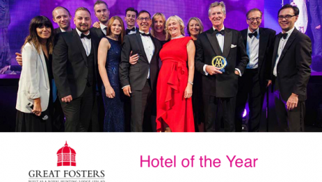 Great Fosters Hotel AA Hotel of Year 2018