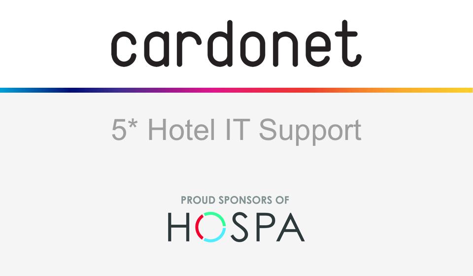 Hotel Technology Cardonet HOSPA HOSPACE 2018