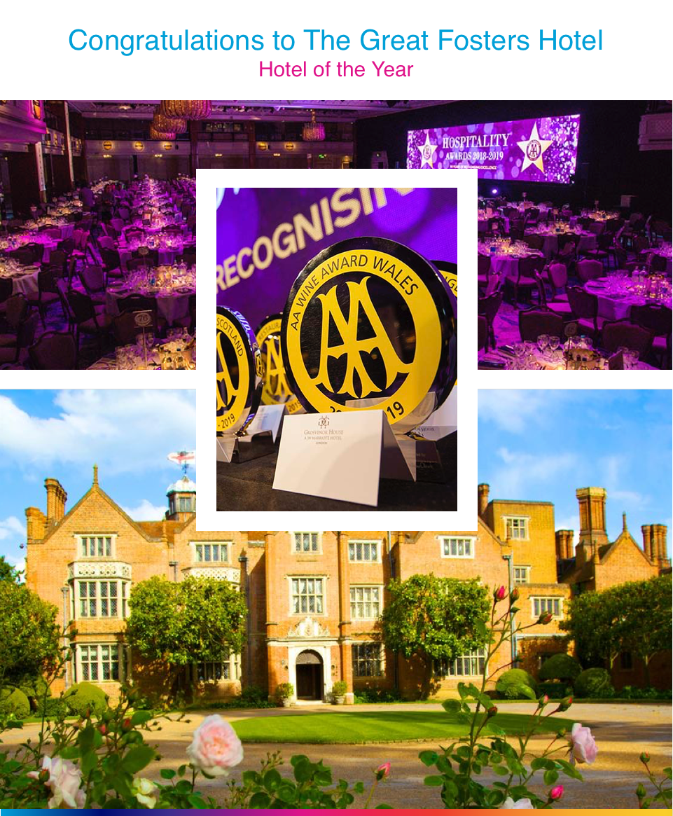 Great Fosters Hotel of the Year Award