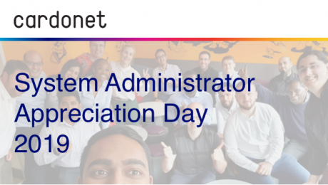 System Administrator Appreciation Day 2019