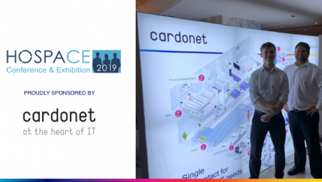 Cardonet IT Services HOSPACE 2019 Partner