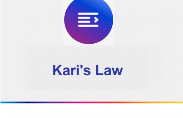 Business up to date with Kari's Law
