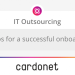Cardonet IT Outsourcing - 8 steps successful onboarding