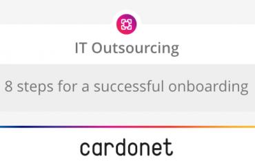 Cardonet IT Outsourcing - 8 steps successful onboarding