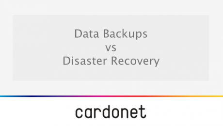 The difference between data backups and disaster recovery