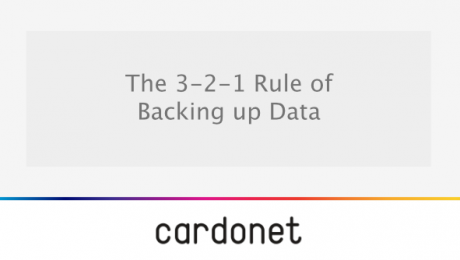 The 3 2 1 rule for backing up data