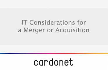 IT considerations for a merger of acquisition of businesses