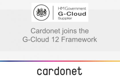 Cardonet is now a G-Cloud 12 Supplier