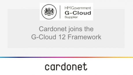 Cardonet is now a G-Cloud 12 Supplier
