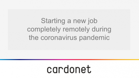 starting a new job during the coronavirus pandemic