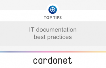 The best practices for IT documentation
